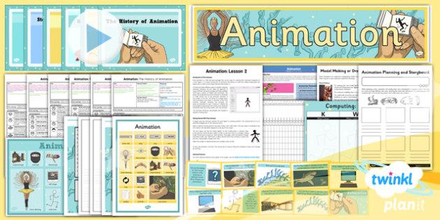 PlanIt - Computing Year 4 - Animation Unit Pack - planit, computing, unit, pack