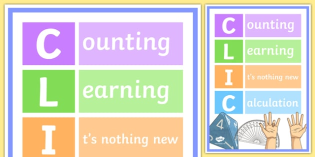CLIC Display Poster