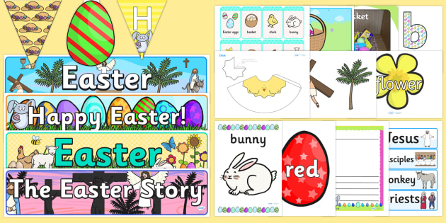 Easter Display Pack - easter, easter display, religion, display