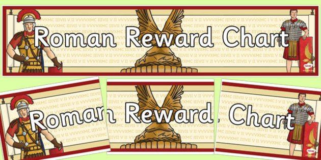 Roman Reward Display Banner - roman, reward, display banner, banner