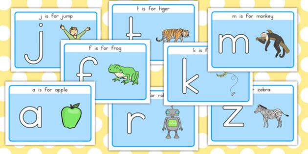 Basic Alphabet Playdough Mats - australia, alphabet, playdough, mats