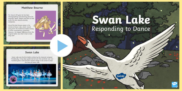Swan Lake: Responding to Dance PowerPoint - Dance, ballet, 2 stars and a wish, feedback, performing arts, contemporary dance, Darcey Bussel, Mat