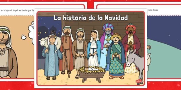 La historia de la Navidad - historia, Navidad, María, Jesús, José