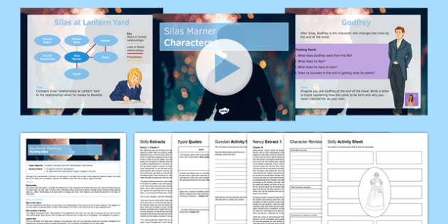 Silas Marner Characters Lesson Pack