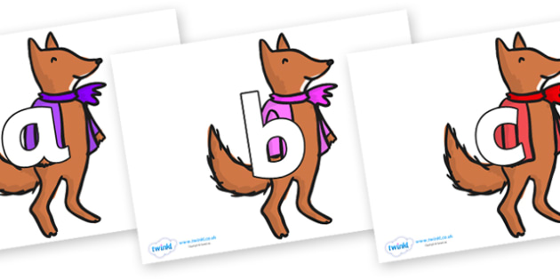 Phoneme Set on Small Fox 4 to Support Teaching on Fantastic Mr Fox - Phoneme set, phonemes, phoneme, Letters and Sounds, DfES, display, Phase 1, Phase 2, Phase 3, Phase 5, Foundation, Literacy
