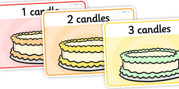 Cake Basic Playdough Mats - cake playdough mats, cake candles playdough mats, counting playdough mats, simple playdough mats, numbers, sen playdough mats