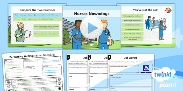 PlanIt Y2 Significant Individuals: Florence Nightingale Lesson Pack Persuasive Writing (2)