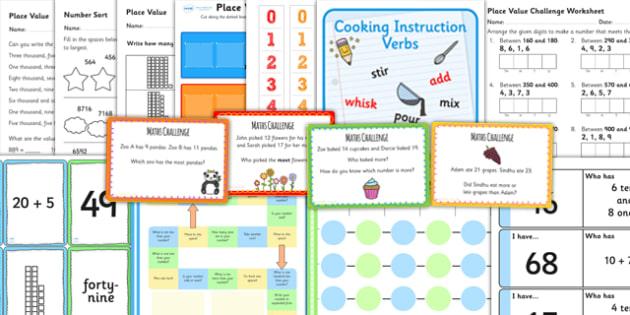 KS3 Maths Place Value Catch Up Resource Pack - ks3, maths, place
