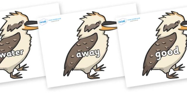 Next 200 Common Words on Kookaburras - Next 200 Common Words on  - DfES Letters and Sounds, Letters and Sounds, Letters and sounds words, Common words, 200 common words
