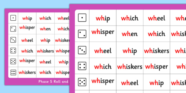 Phase 5 Roll and Read Mat wh - phase 5, roll, read, mat, wh
