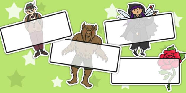 Beauty and the Beast Editable Self Registration - self reg, story
