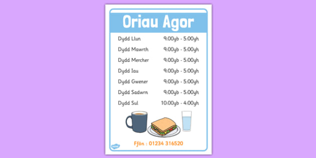 Oriau Agored 'Caffi' - roleplay, EAL, languages