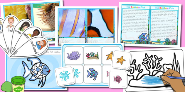 Discovery Sack to Support Teaching on The Rainbow Fish - australia, rainbow fish, discovery