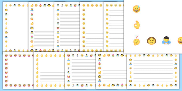 Choose Your Own Writing Paper Printable Pack  1111