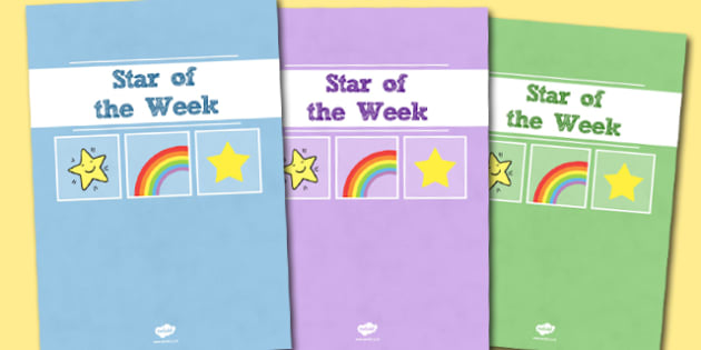 A4 Star of the Week Divider Covers-Star of the week, divider covers, A4 divider covers, behaviour management, class management, themed divider covers