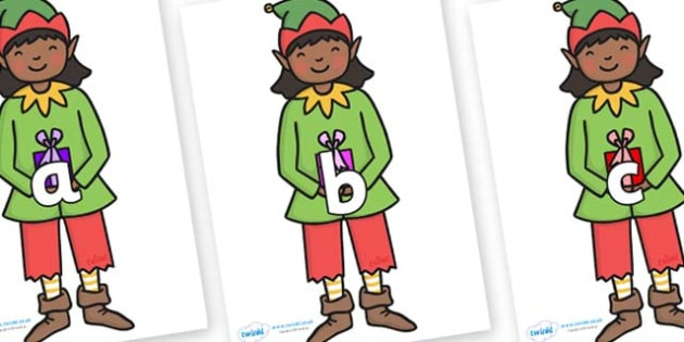 Phase 2 Phonemes on Elves - Phonemes, phoneme, Phase 2, Phase two, Foundation, Literacy, Letters and Sounds, DfES, display