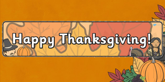 Thanksgiving Display Banner Alt - displays, banners, visual