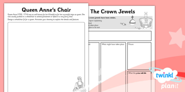 PlanIt - History LKS2 - Riotous Royalty Unit Home Learning Tasks - planit, history, lks2, riotous royalty, home learning