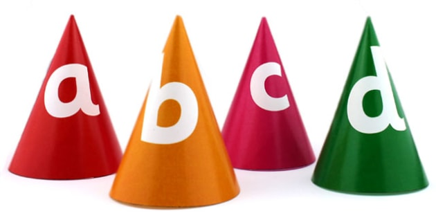 Bee Bot Lettered Cone Markers - alphabet, a-z, visual aid, cones