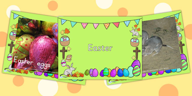 Easter Display Photos PowerPoint - easter, easter display, ppt