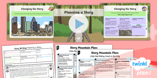 Traditional Tales: Little Red Riding Hood: Story Writing 3 Y1 Lesson Pack - traditional stories, fairytales, fairy tales, fairy stories, familiar stories