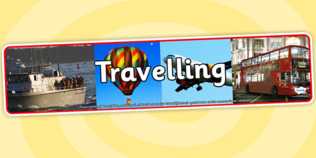 Travelling Photo Display Banner - travelling, photo display banner, photo banner, display banner, banner,  banner for display, display photo, display, photos