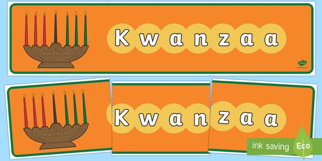 Kwanzaa Display Banner - Requests KS1, kwanzaa, africa, american, december, celebrations, festival, cultural, event, black hi