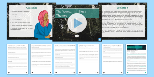 Themes Lesson Pack to Support Teaching on The Woman in Black. - The Woman in Black