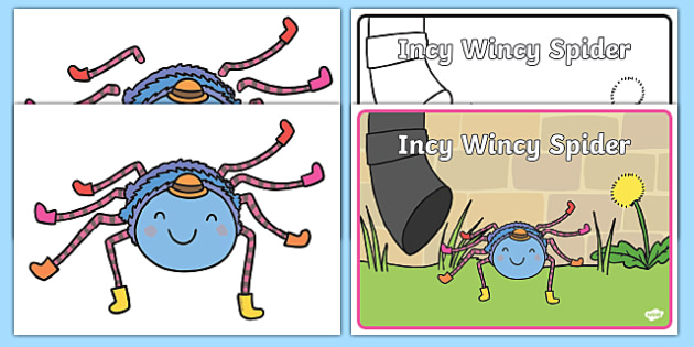 Incy Wincy Spider Counting Activity Pack -  incy wincy spider counting activity pack, resource pack, spider, Maths, counting, numbers, Math, counting back, spider, incy wincy spider, minibeast, minibeasts