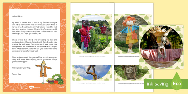 Editable Harvest Scarecrow Letter and Resource Pack - EYFS, Early Years, Key Stage 1, KS1, topic starter, topic introduction, Wow activities, lesson obser