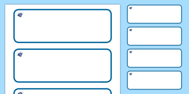 Sapphire Themed Editable Drawer-Peg-Name Labels - Themed Classroom Label Templates, Resource Labels, Name Labels, Editable Labels, Drawer Labels, Coat Peg Labels, Peg Label, KS1 Labels, Foundation Labels, Foundation Stage Labels, Teaching Labels