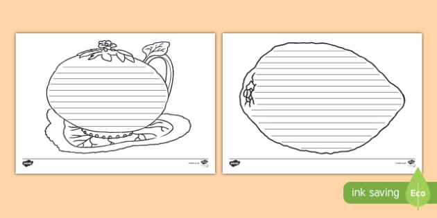 Sukkot Writing Frames