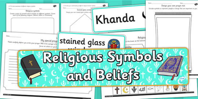Religious Symbols and Beliefs Resource Pack - religion, RE