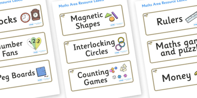 Pebble Themed Editable Maths Area Resource Labels - Themed maths resource labels, maths area resources, Label template, Resource Label, Name Labels, Editable Labels, Drawer Labels, KS1 Labels, Foundation Labels, Foundation Stage Labels, Teaching Labe