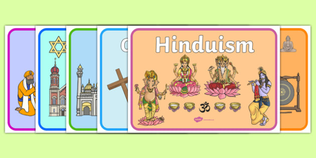 Religion A4 Display Posters Pack - religion, a4, display posters, display, posters, pack