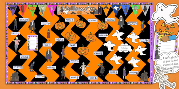 Ready Made Halloween Display Pack - ready made, display, pack