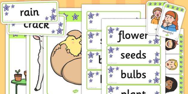 Spring Mind Map Starter Resource Pack - spring, mind map, pack