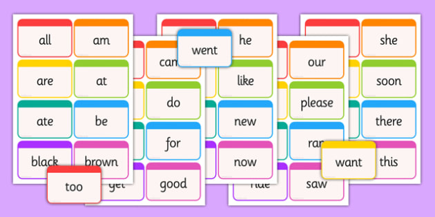 Dolch Word Flashcards Primer - usa, america, dolch, word, flashcards, primer