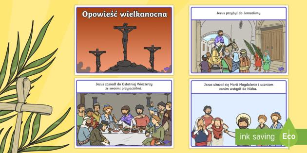 Opowieść Wielkanocna po polsku