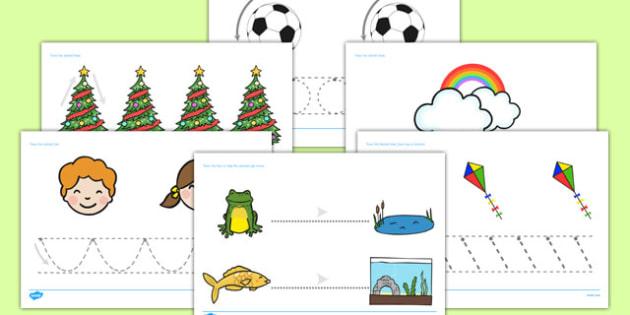 Pencil Control Worksheets - pencil, control, pencil control, worksheets, pencil worksheets, writing, pencil writing, controlling pencil, writing