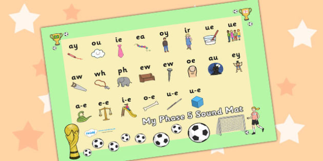 Football World Cup Themed Phase 5 Sound Mat - football, world cup