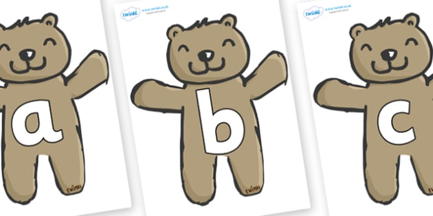 Phoneme Set on Teddy Bears - Phoneme set, phonemes, phoneme, Letters and Sounds, DfES, display, Phase 1, Phase 2, Phase 3, Phase 5, Foundation, Literacy
