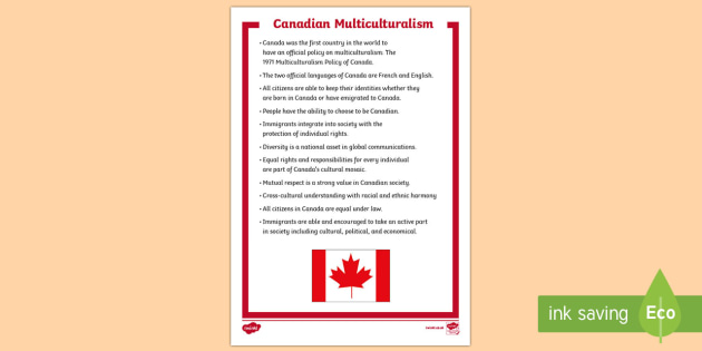 Canadian Multiculturalism Fact File - Canadian Multiculturalism Day, canada, social studies, canadian