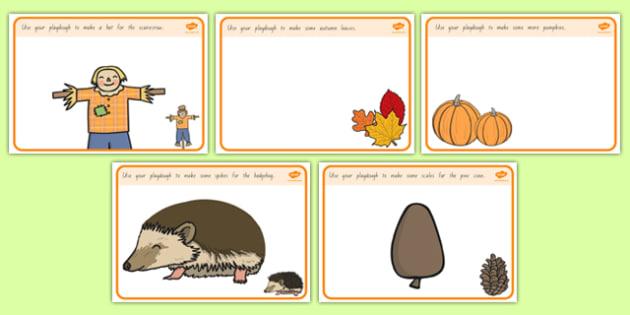 Autumn Playdough Mats - nz, new zealand, Autumn, playdough, mat, Harvest, Autumn, seasons, harvest festival, fruit, apple, pear, orange, wheat, bread, grain, leaves, conker