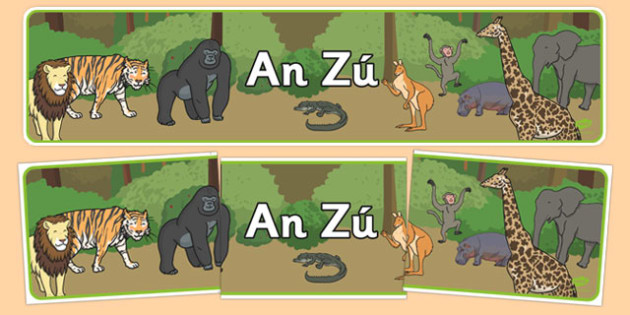 An Zú  Gaeilge Display Banner