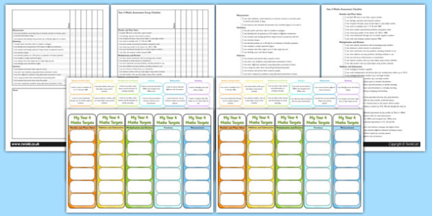 Year 4 Maths Assessment Pack - math, numeracy, assessment, assess