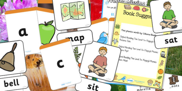 Phase 2 Literacy Sack - phase 2, phase two, literacy, phases