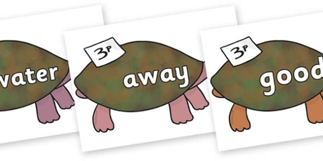 Next 200 Common Words on Turtle to Support Teaching on The Great Pet Sale - Next 200 Common Words on  - DfES Letters and Sounds, Letters and Sounds, Letters and sounds words, Common words, 200 common words