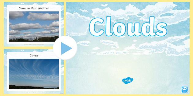 Clouds Photo PowerPoint - clouds, cloud, cloud photos, types of cloud, cloud formations, cloud formations powerpoint, cloud formation photos, cloud types