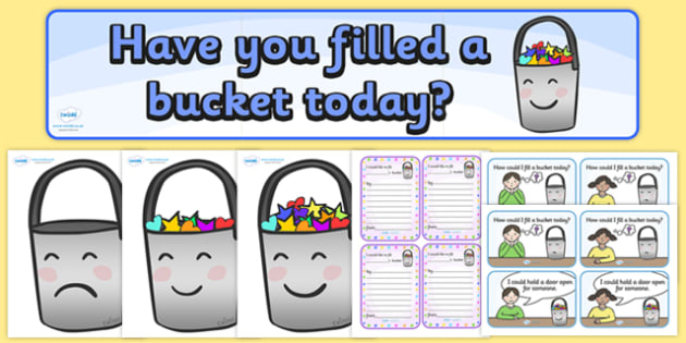 Have You Filled a Bucket Today Story Sack - story sack, story